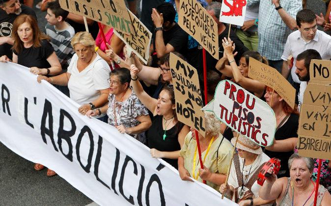 Turismofobia: El aumento de los turistas que visitan España ha hecho...