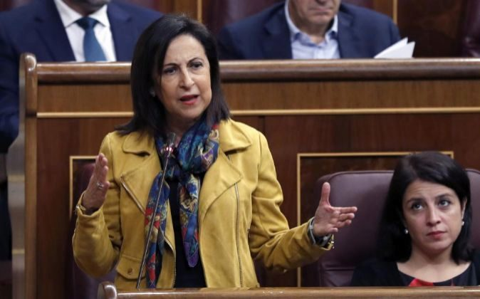 La portavoz parlamentaria socialista, Margarita Robles.