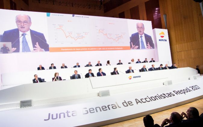 Junta de accionistas de Repsol de 2017