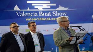 El director del Consorcio, Vicent Llorens; el director del VBS,...