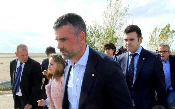 El exconseller de Empresa de la Generalitat Santi Vila ha abandonado...