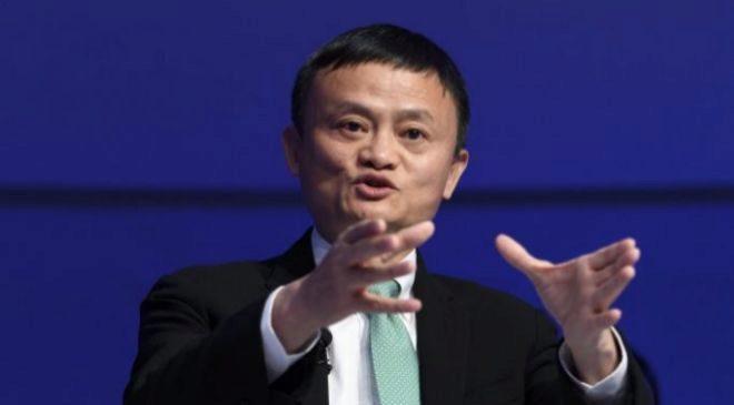 El fundador y presidente ejecutivo del grupo Alibaba Jack Ma.