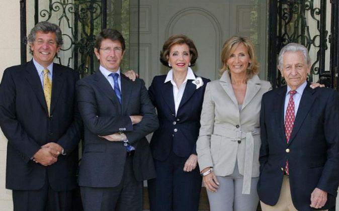Los hermanos Miguel y Javier Suqué Mateu, consejero delegado y...