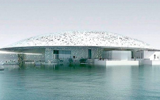 Así lucirá el Museo Louvre Abu Dabi, donde se exhibirán desde...