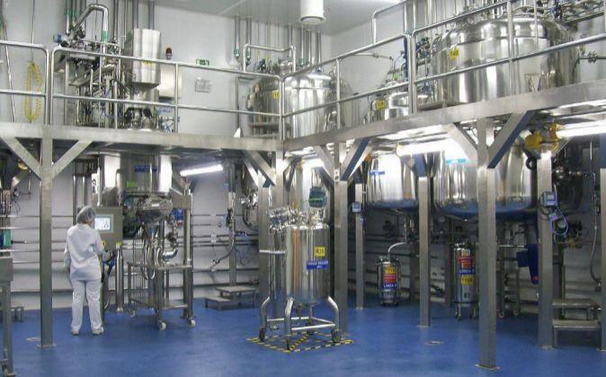 Interior de la planta de Rovi en el granadino Parque Tecnológico de...