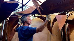 La exposición Tropical, del escultor Fernando Oriol (en la imagen)...