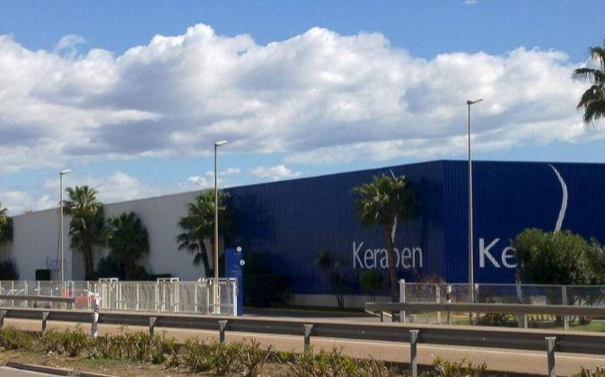 Fábrica de Keraben en Nules.