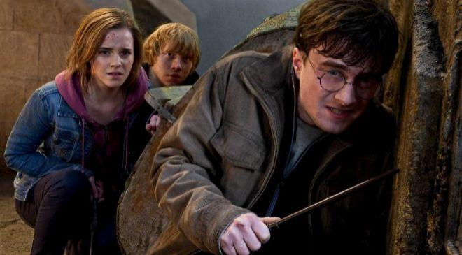 Fotograma de una de las películas de Harry Potter.