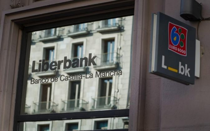 SUCURSAL DE LIBERBANK EN MADRID.