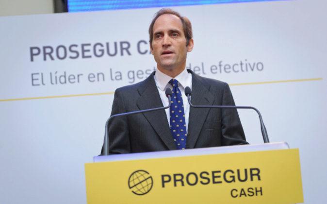 El consejero delegado de Prosegur Cash, Christian Gut Revoredo.
