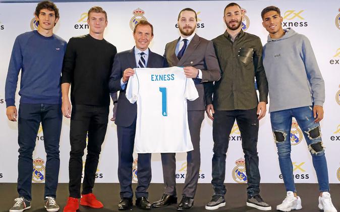 El Real Madrid acaba de sellar un patrocino con Exness, especializado...