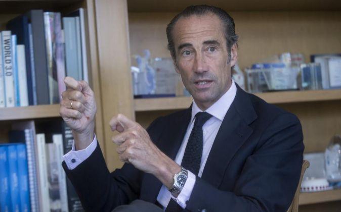 Antonio Rodríguez Pina, presidente y consejero delegado de Deutsche...