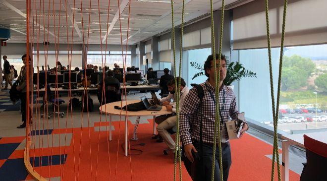 El Open Lab de Internet de las Cosas de Telefónica, ubicado en la...