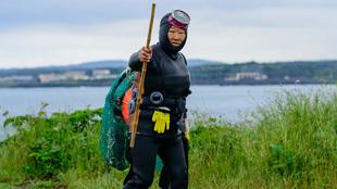haenyeo marisco Corea del Sur