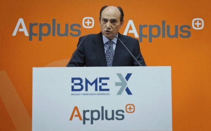 Fernando Basabé es el consejero delegado de Applus.