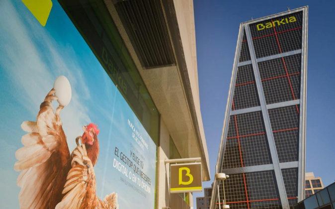 Bankia, oficinas y torre.