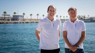 Richard Brisius y Johan Salén, el nuevo presidente y copresidente de...