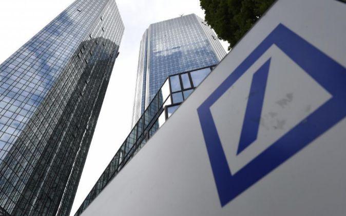 Sede de Deutsche Bank en Alemania.