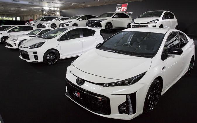 Modelos de Toyota.