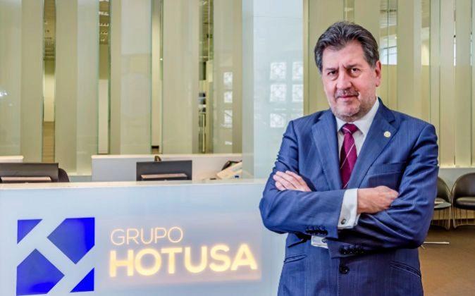 Amancio López Seijas, presidente de Grupo Hotusa.