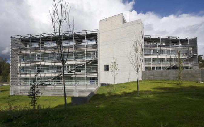 Edificio de la Universidad de Santiago de Compostela.