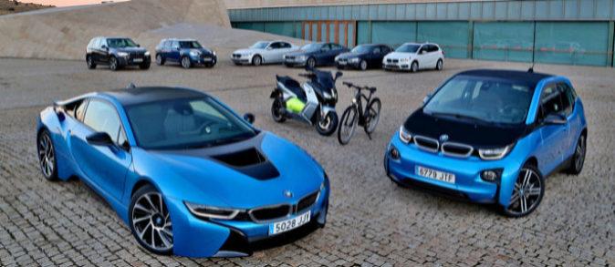 La gama de vehículos eficientes de BMW