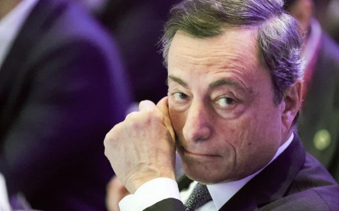 El presidente del Banco Central Europeo, Mrio Draghi.