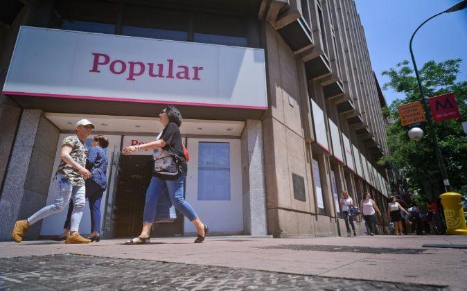 Sucursal de Banco Pouloar en Madrid.