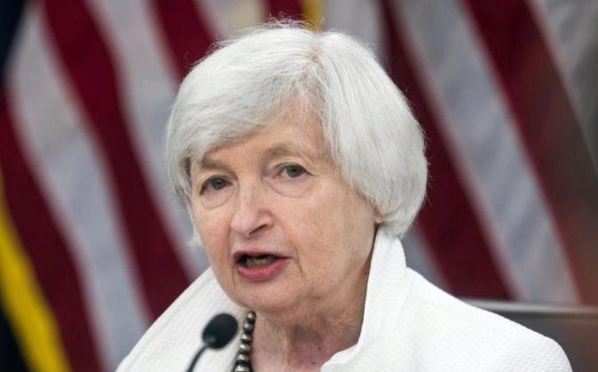 La presidenta de la Reserva Federal, Janet Yellen.