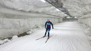 túnel esquí