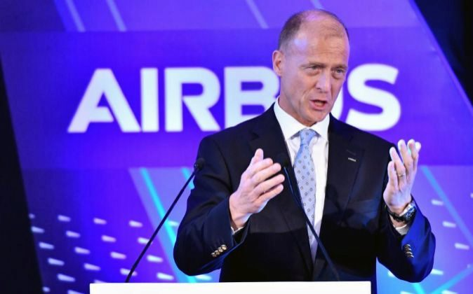 Tom Enders, consejero delegado de Airbus Group.