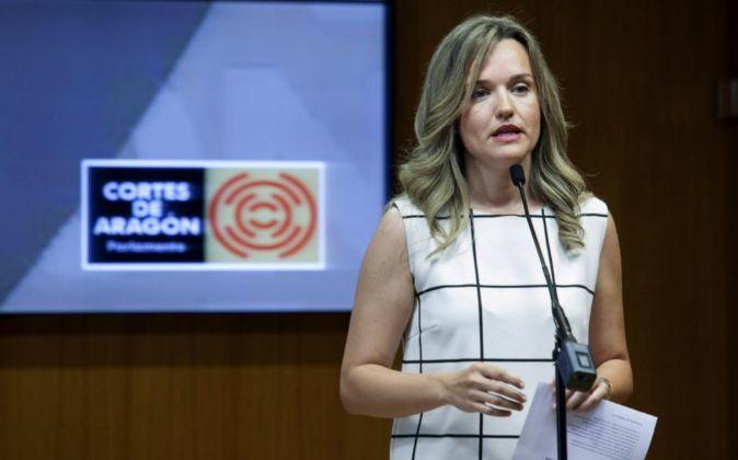 Pilar Alegría, consejera de Innovación, Investigación y...