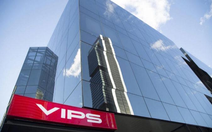 Sede de grupo Vips en Madrid.
