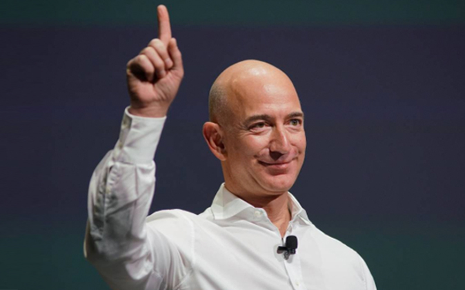 Jeff Bezos, fundador y director ejecutivo de Amazon.