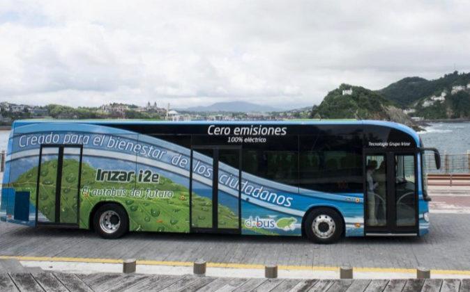 Autobús eléctrico IE2 de la compañía vasca Irizar.
