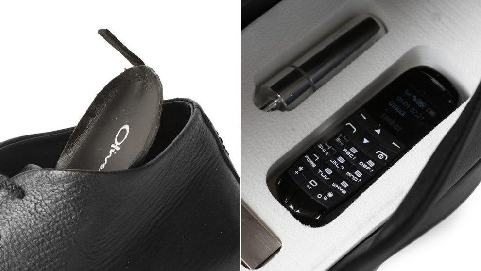 Detalles del modelo The Secret Shoe, el calzado que permite portar...