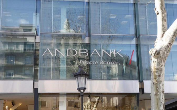 Oficinas de Andbank en Barcelona.