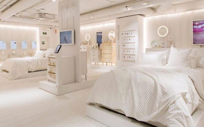 Ikea Temporary Dormitorios, en la calle Serrano de Madrid.