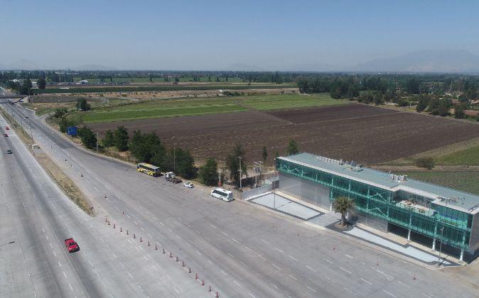 Autovía Santiago Lampa (Chile).
