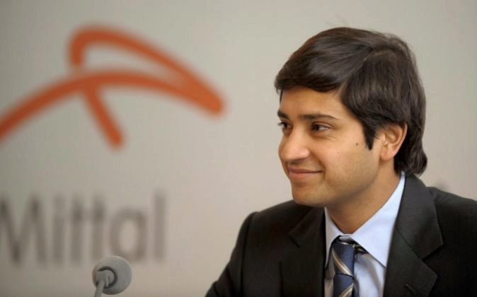 Aditya Mittal,  director financiero y CEO para Europa de...