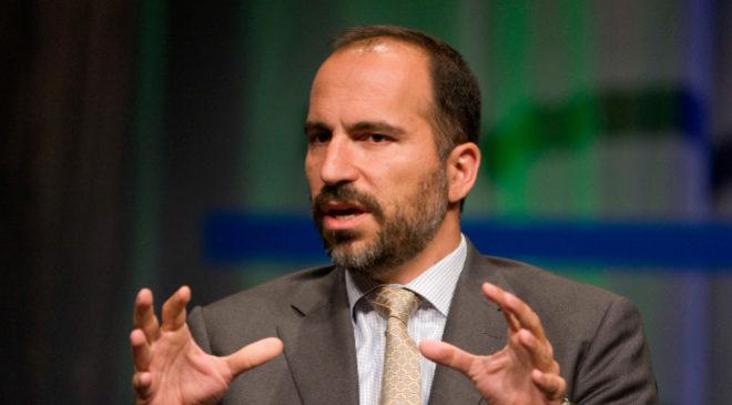 Dara Khosrowshahi, consejero delegado de Uber.