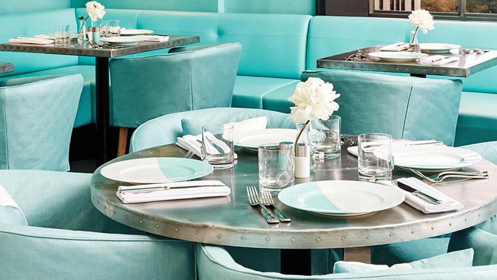 Tiffanny Audrey Hepburn Blue Box Cafe  Reed Krakoff