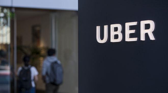 Logo de Uber.