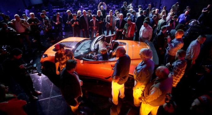 Presentación del Chevrolet Corvette ZR1 2019 en el Salón del...