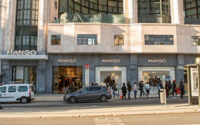 Mango ha inaugurado este jueves su nueva tienda insignia en Lisboa.