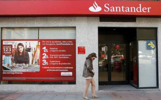 Sucursal bancaria de Santander