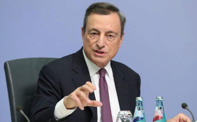 El presidente del Banco Central Europeo Mario Draghi.