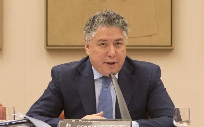 Tomas Burgos Gallego, en una comparecencia en el Congreso de los...