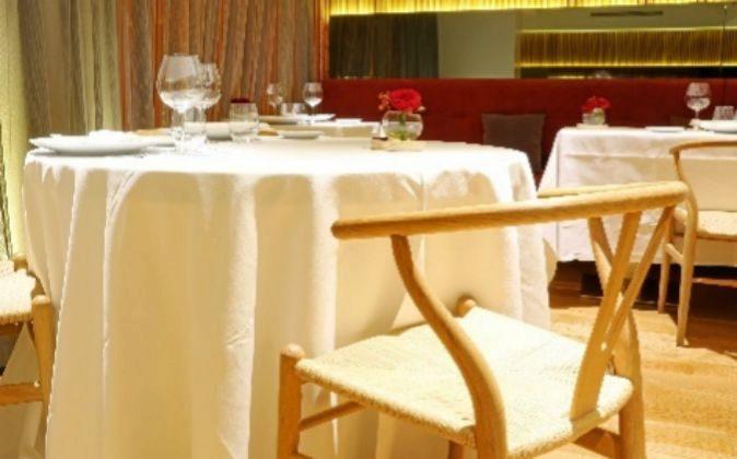 Salón del restaurante Álbora