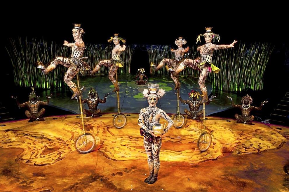 El nuevo espectáculo de Cirque du Soleil 'TOTEM' llega por...